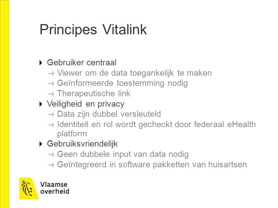 Principes Vitalink Gebruiker centraal