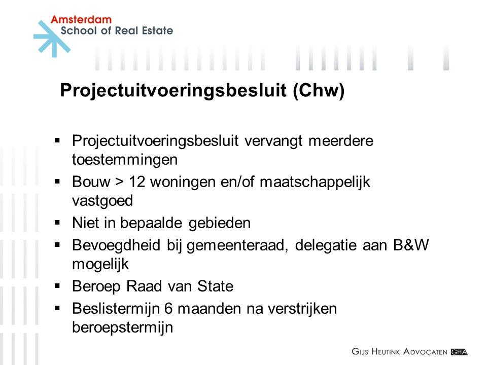 Projectuitvoeringsbesluit (Chw)