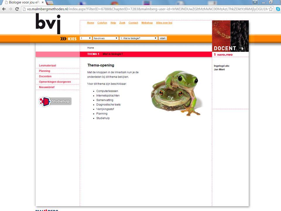 Biologie voor Jou - Digitaal