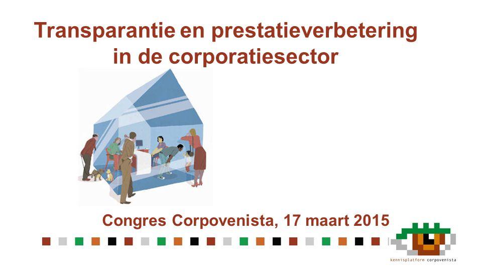 Transparantie en prestatieverbetering in de corporatiesector
