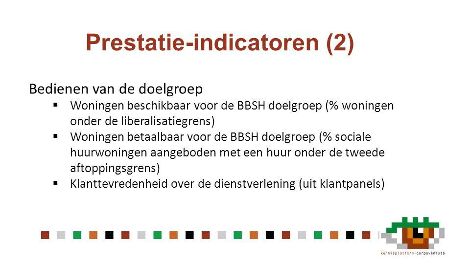 Prestatie-indicatoren (2)