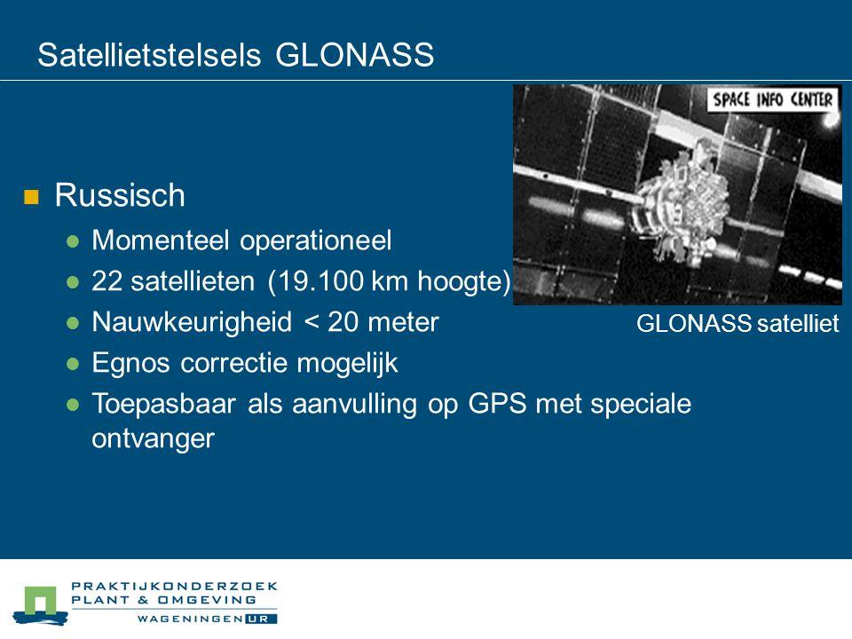 Satellietstelsels GLONASS