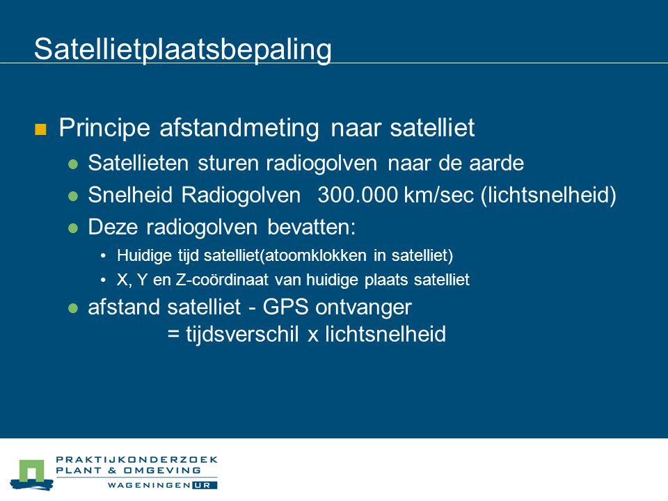 Satellietplaatsbepaling