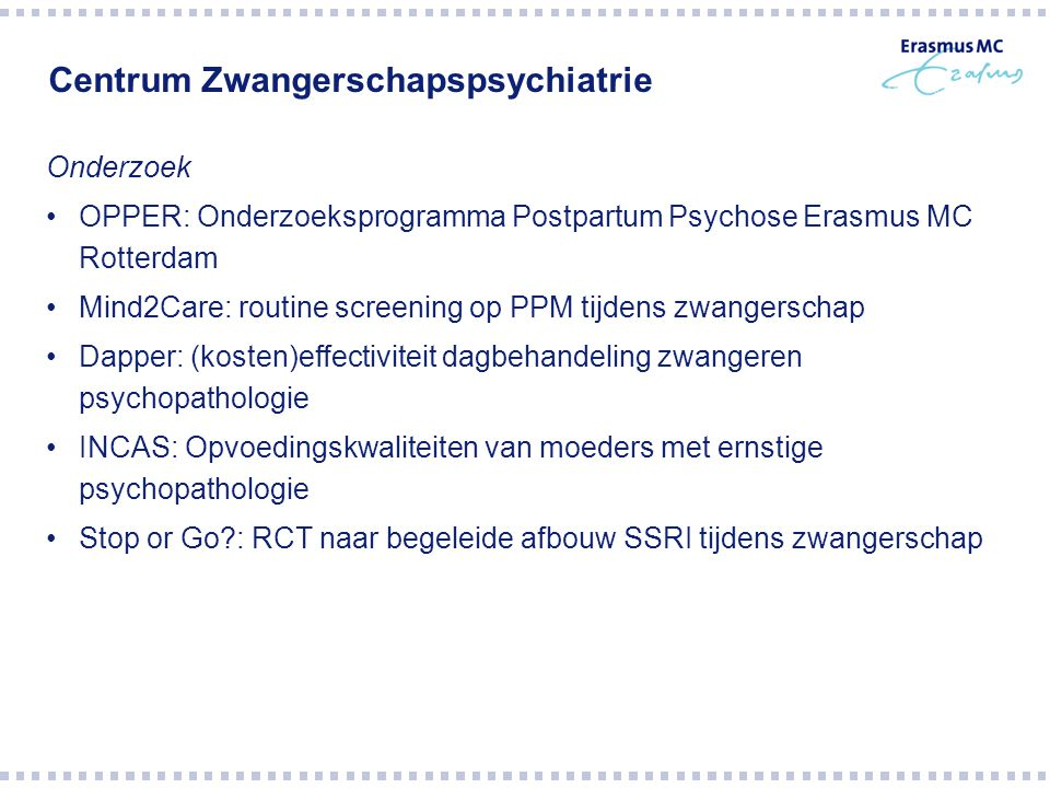 Centrum Zwangerschapspsychiatrie