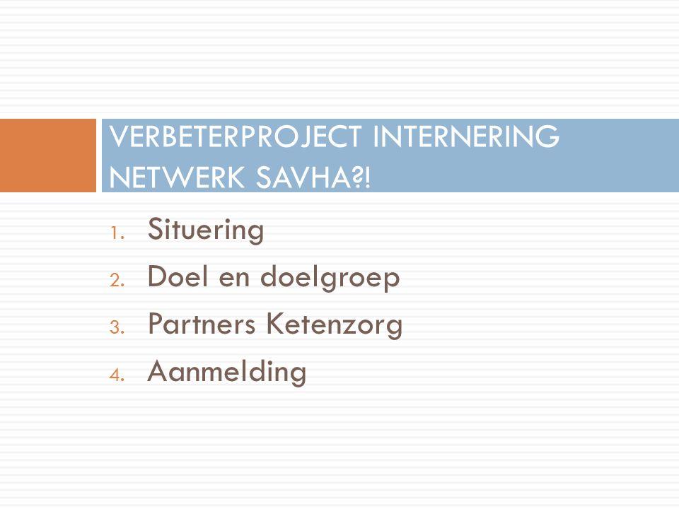 VERBETERPROJECT INTERNERING NETWERK SAVHA !