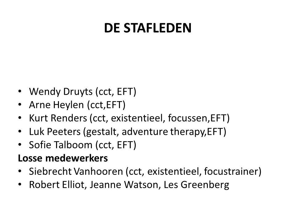 DE STAFLEDEN Wendy Druyts (cct, EFT) Arne Heylen (cct,EFT)
