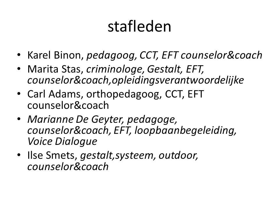 stafleden Karel Binon, pedagoog, CCT, EFT counselor&coach