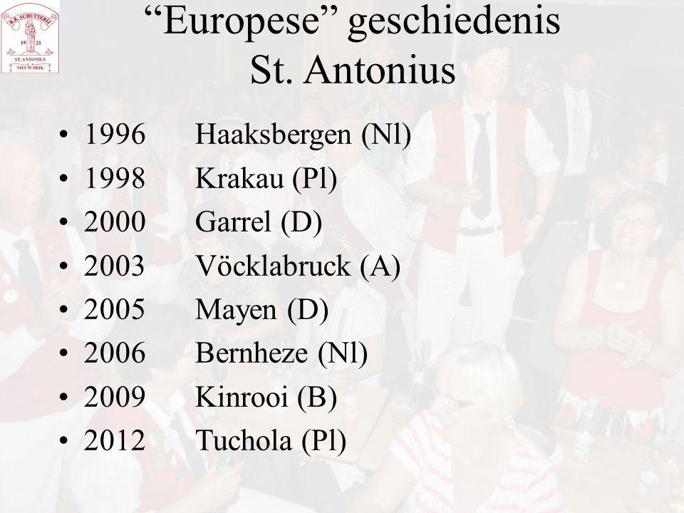 Europese geschiedenis St. Antonius