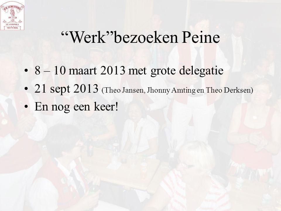 Werk bezoeken Peine 8 – 10 maart 2013 met grote delegatie