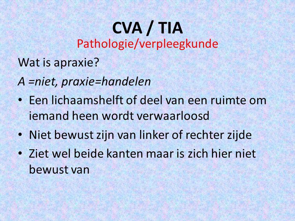 Pathologie/verpleegkunde