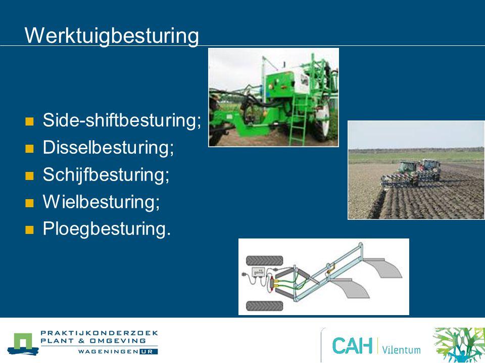 Werktuigbesturing Side-shiftbesturing; Disselbesturing;