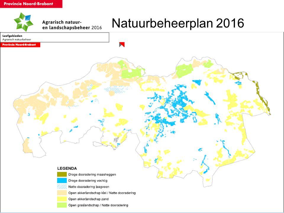 Natuurbeheerplan 2016