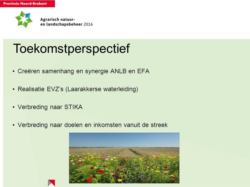 Toekomstperspectief Creëren samenhang en synergie ANLB en EFA