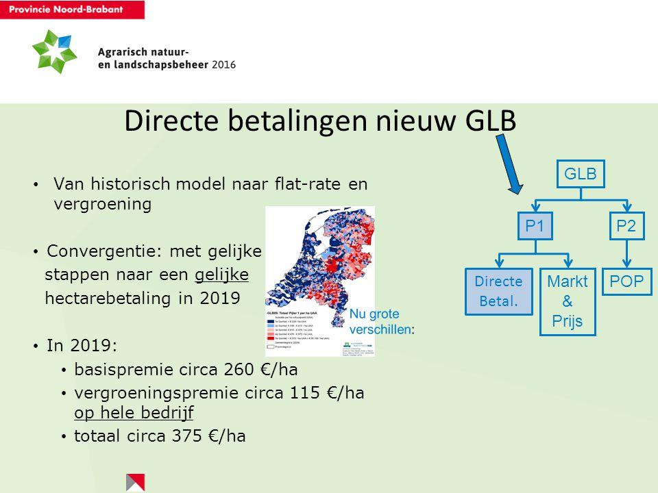 Directe betalingen nieuw GLB