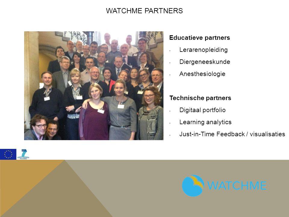 Watchme Partners Educatieve partners Lerarenopleiding Diergeneeskunde