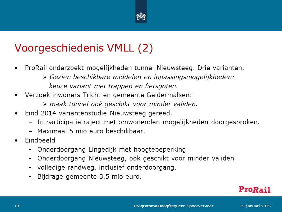 Voorgeschiedenis VMLL (2)