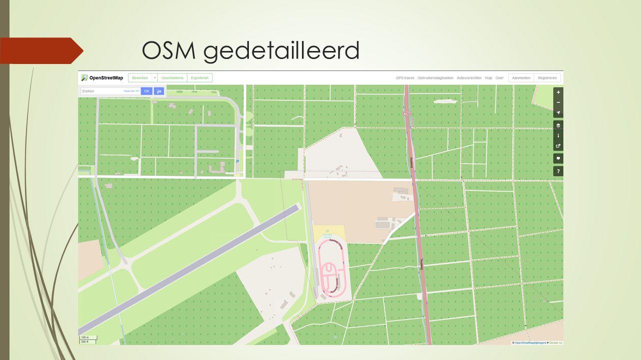 OSM gedetailleerd