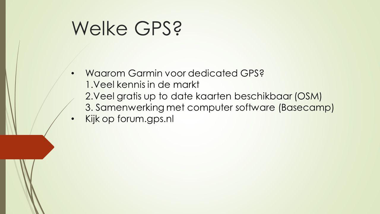 Welke GPS