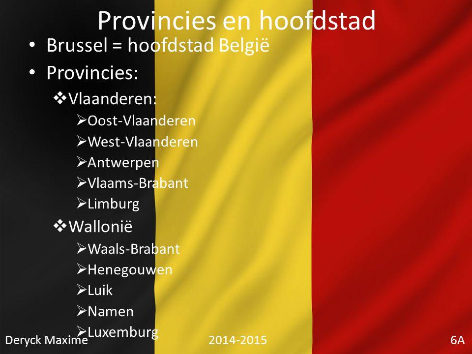 Provincies en hoofdstad
