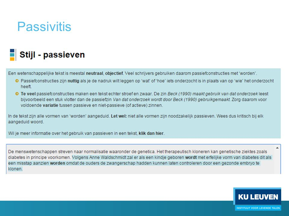 Passivitis