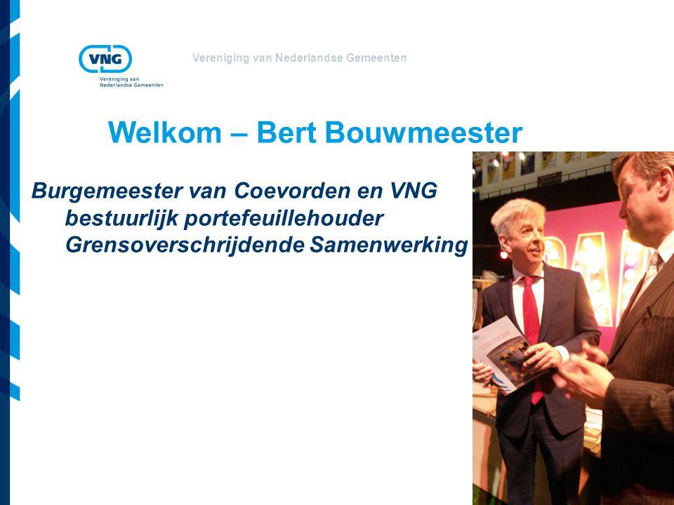Welkom – Bert Bouwmeester