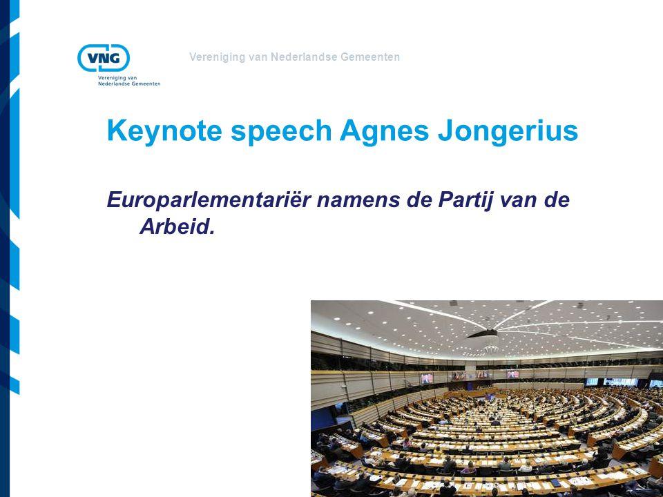 Keynote speech Agnes Jongerius