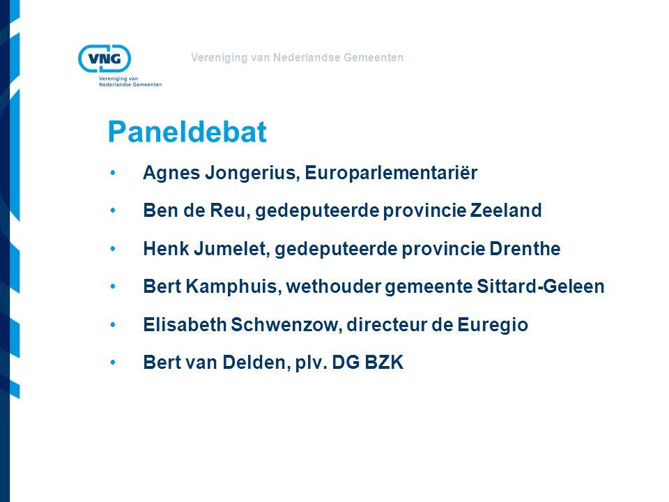 Paneldebat Agnes Jongerius, Europarlementariër