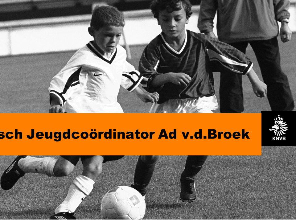 Technisch Jeugdcoördinator Ad v.d.Broek