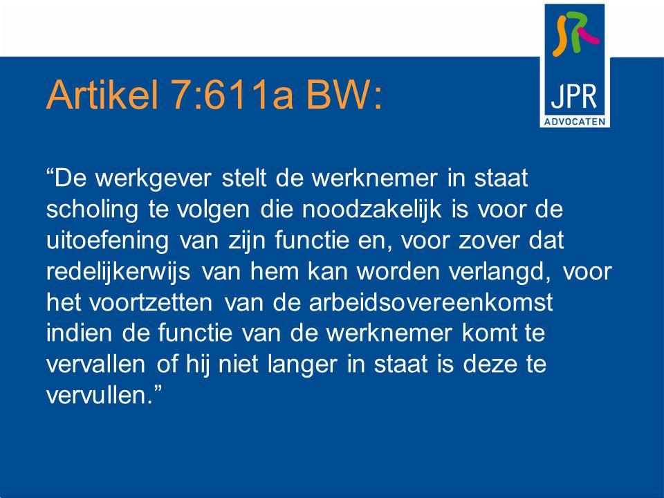 Artikel 7:611a BW: