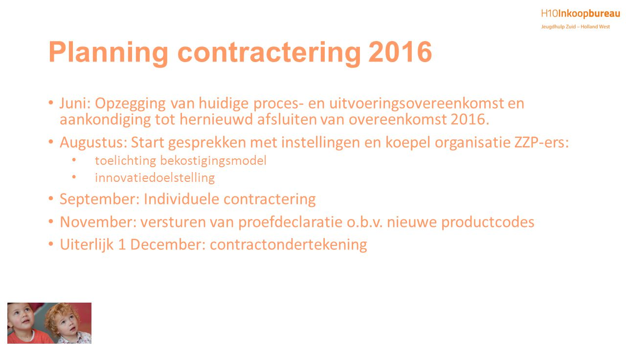 Planning contractering 2016