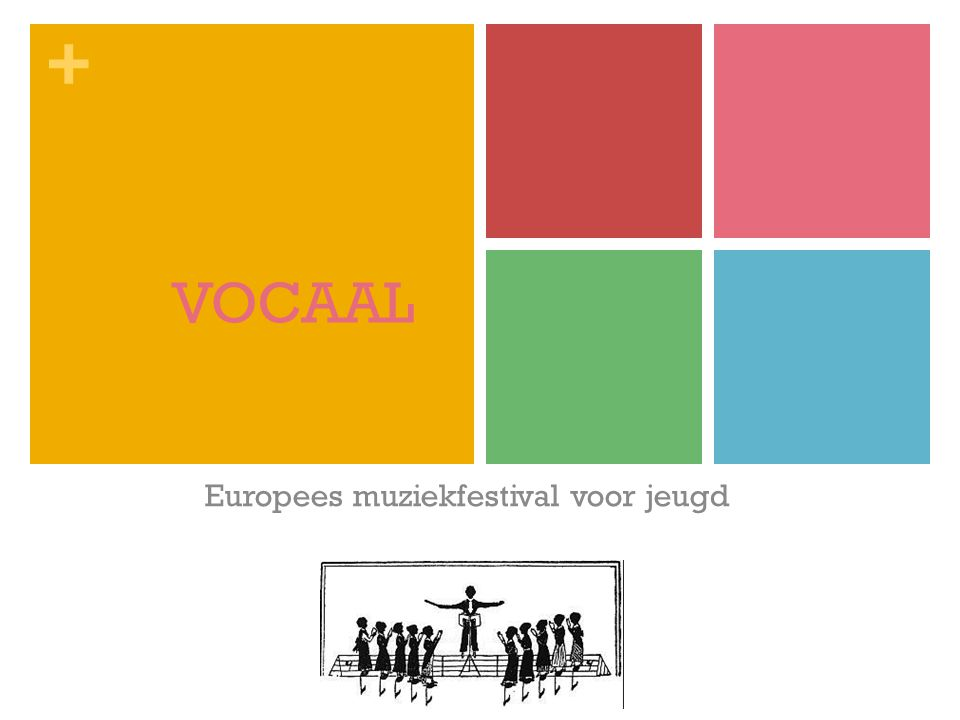 Europees muziekfestival voor jeugd