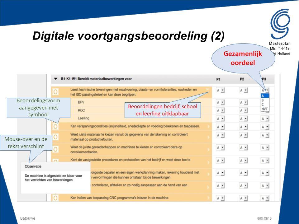 Digitale voortgangsbeoordeling (2)