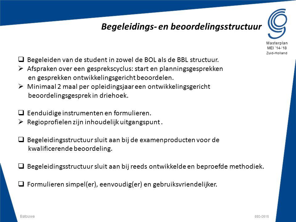 Begeleidings- en beoordelingsstructuur