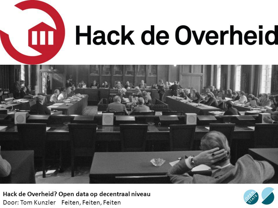 Hack de Overheid Open data op decentraal niveau