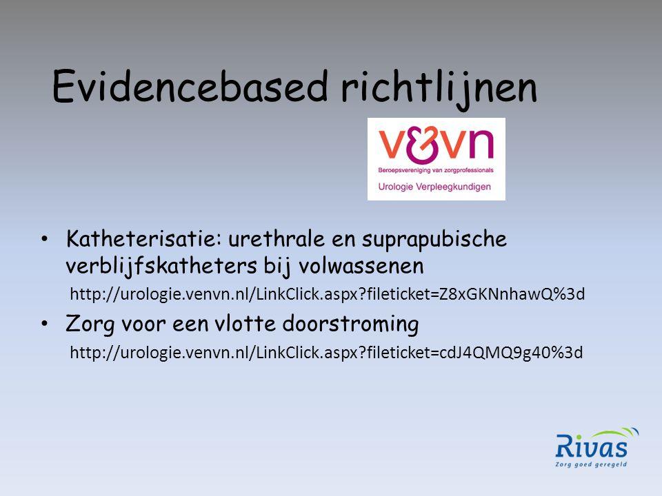Evidencebased richtlijnen