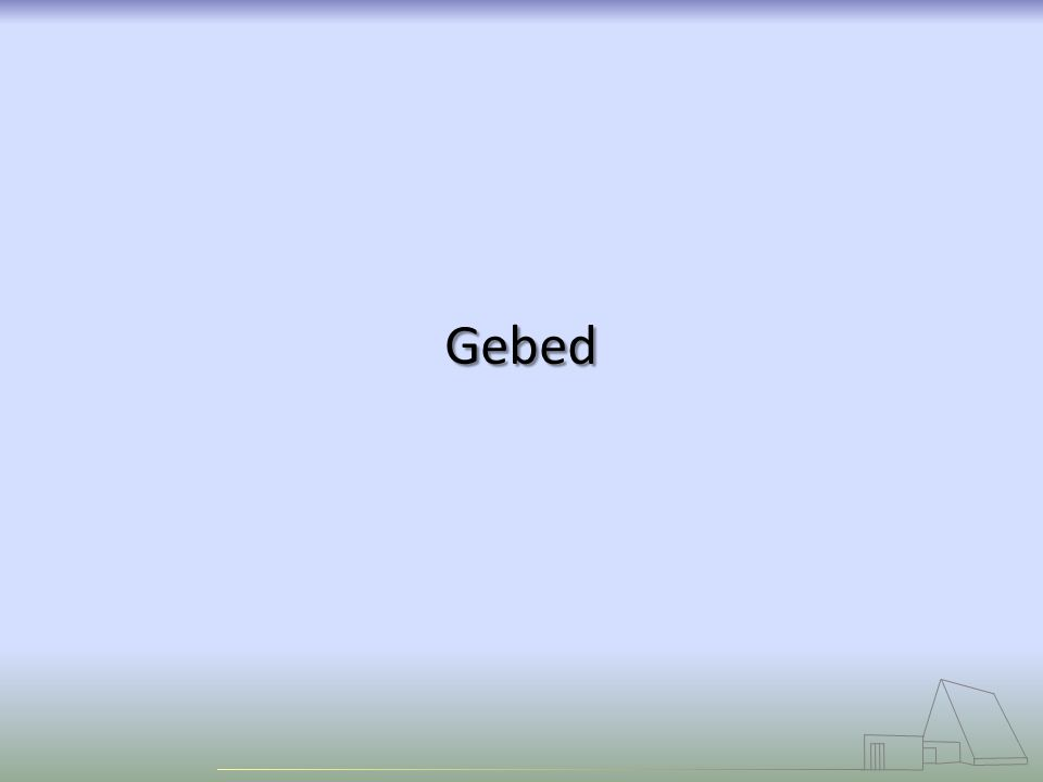 Gebed