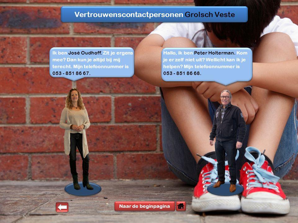 Vertrouwenscontactpersonen Grolsch Veste