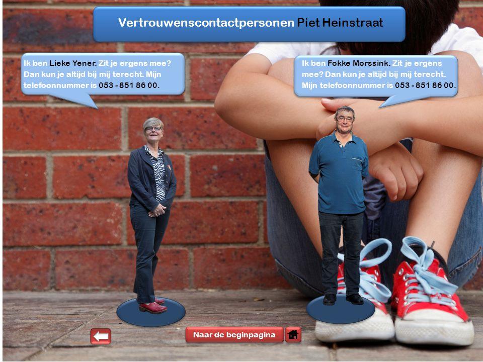 Vertrouwenscontactpersonen Piet Heinstraat