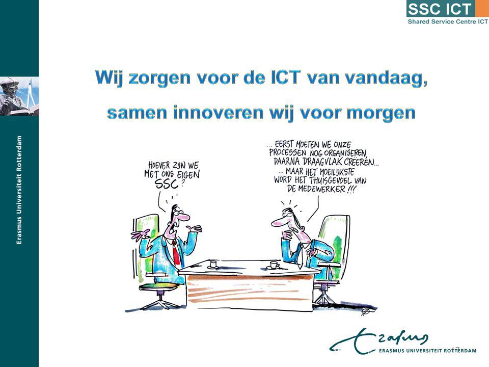 Wij zorgen voor de ICT van vandaag, samen innoveren wij voor morgen