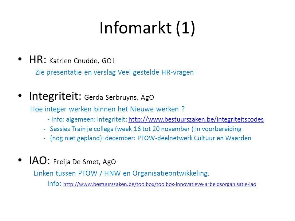 Infomarkt (1) HR: Katrien Cnudde, GO!