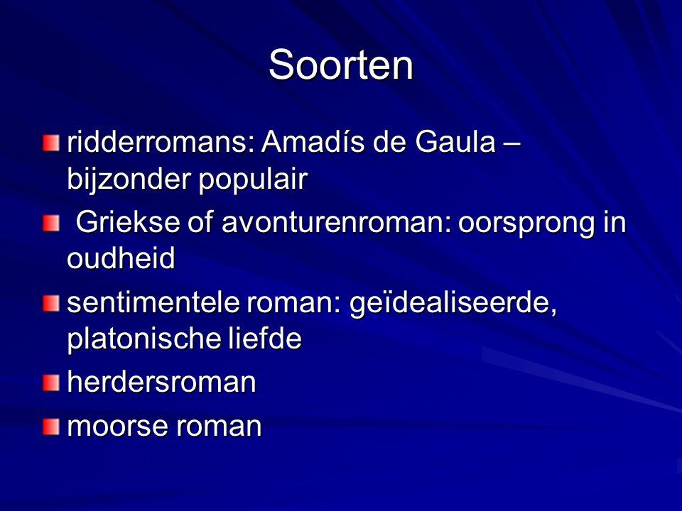 Soorten ridderromans: Amadís de Gaula – bijzonder populair