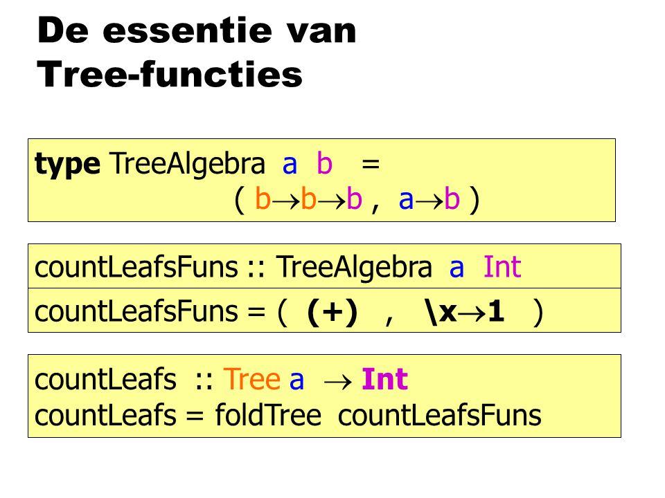 De essentie van Tree-functies