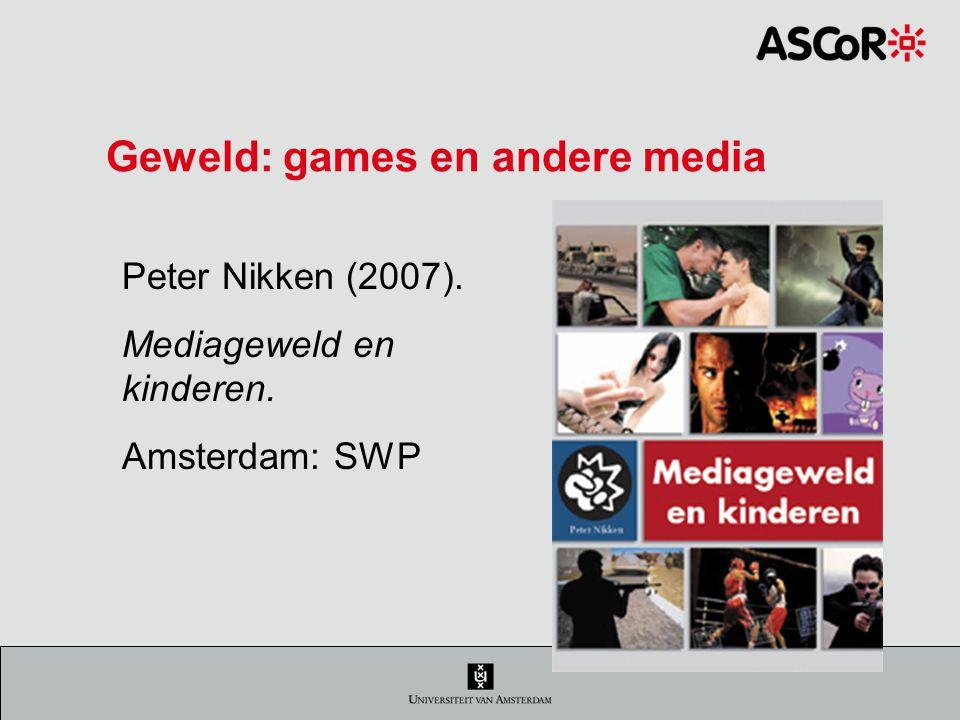 Geweld: games en andere media