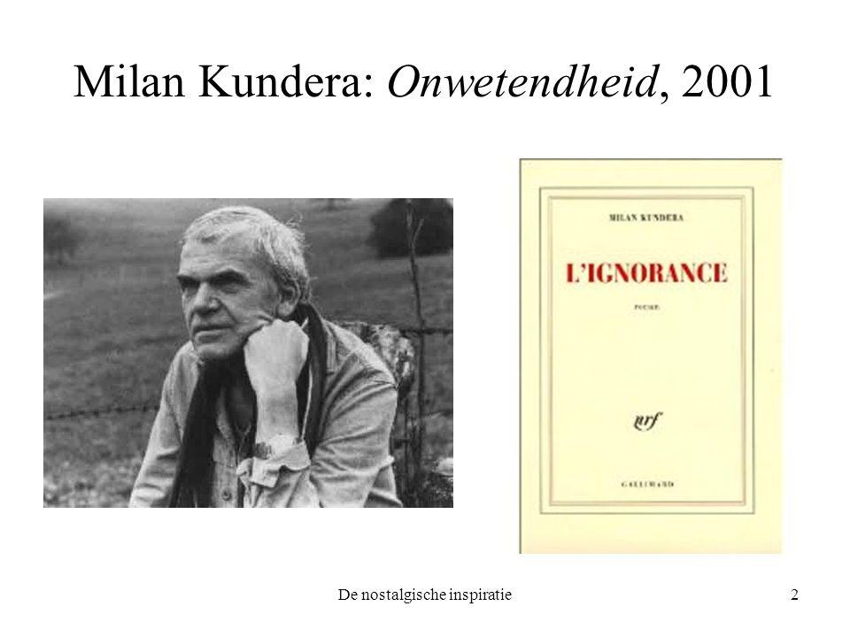 Milan Kundera: Onwetendheid, 2001