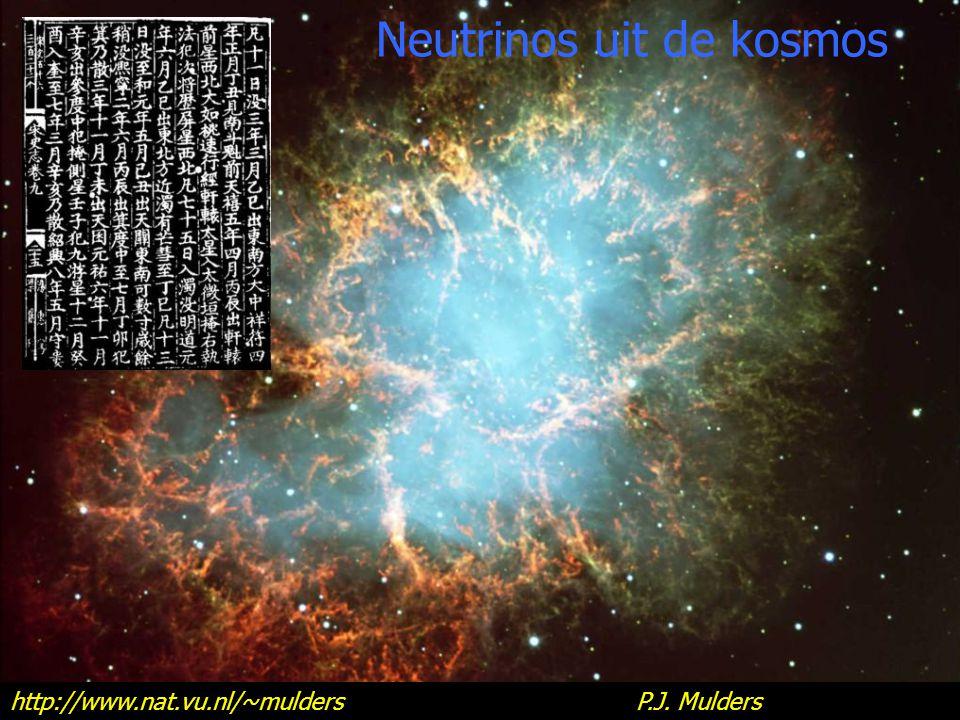 Neutrinos uit de kosmos