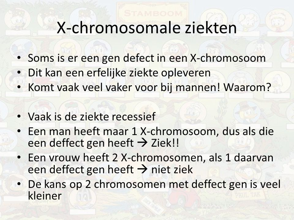 X-chromosomale ziekten