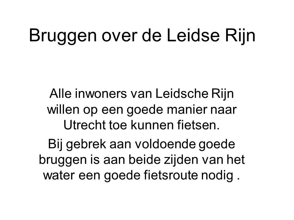 Bruggen over de Leidse Rijn