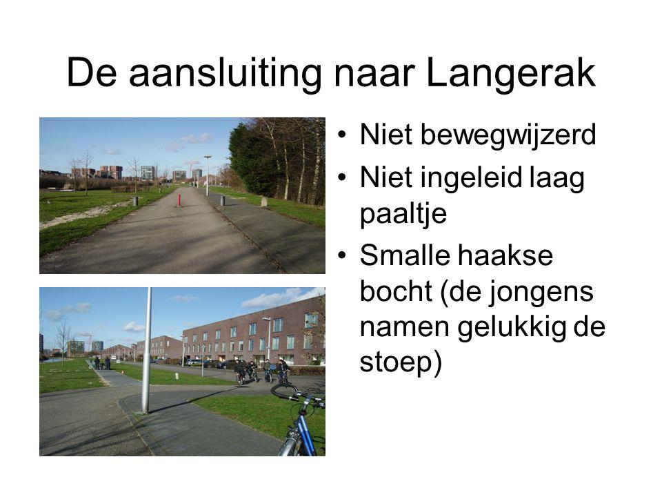 De aansluiting naar Langerak