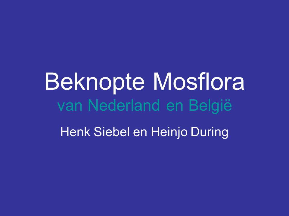 Beknopte Mosflora van Nederland en België