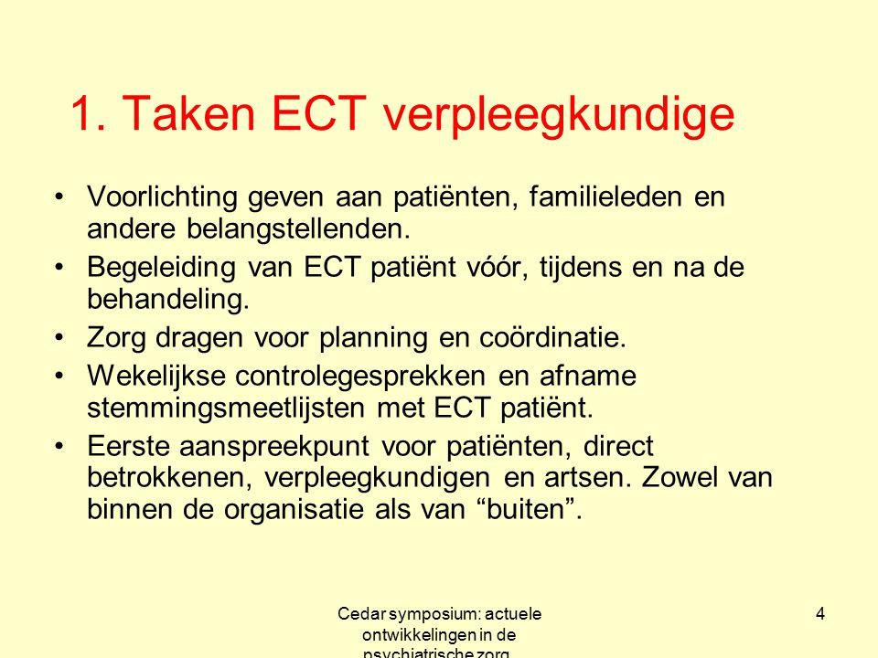 1. Taken ECT verpleegkundige